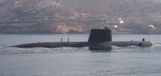 Hiszpański okręt podwodny S-73 Mistral / Zdjęcie: Alberto Hernández, importé par Basilio / Licencja Creative Commons