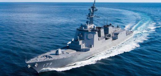 Japoński niszczyciel Maya, to siostrzany statek Haguro, którego wprowadzenie do służby zaplanowano na 2021 r. / Fot. Japońskie Ministerstwo Obrony