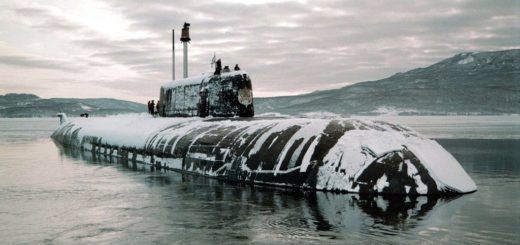 Atomowy okręt podwodny project 949A Antey/Oscar II class SSGN Omsk (K-186). / Zdjęcie: old.reddit.com