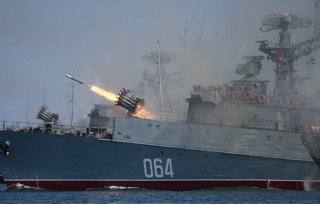Muromets mały okręt rakietowy do zwalczania okrętów podwodnych. / Zdjęcie: Dmitry Feoktistov / TASS