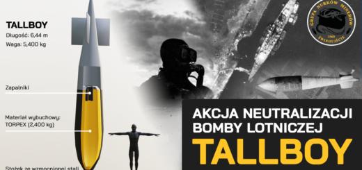 Akcja neutralizacji bomby lotniczej TALLBOY.