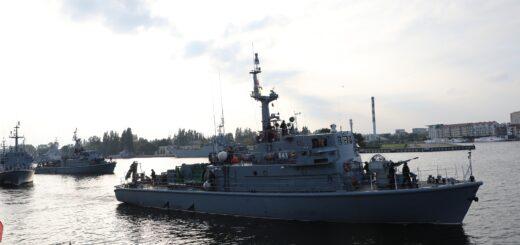 Ćwiczenie WARGACZ-20. / Zdjęcie: 8. Flotylla Obrony Wybrzeża ze Świnoujścia