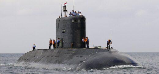 S-62 Sindhuvijay, okręt podwodny typu Sindhughosh oparty na radzieckim okręcie podwodnym z silnikiem Diesla klasy Kilo. / Zdjęcie: Wikipedia
