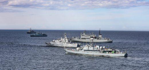 Zdjęcie: Estonian Defence Forces / Załoga ORP Czajka