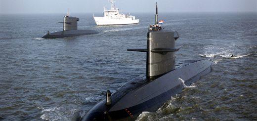 Dwa okręty podwodne typu Walrus. / Zdjęcie: Royal Netherlands Navy / Koninklijke Marine