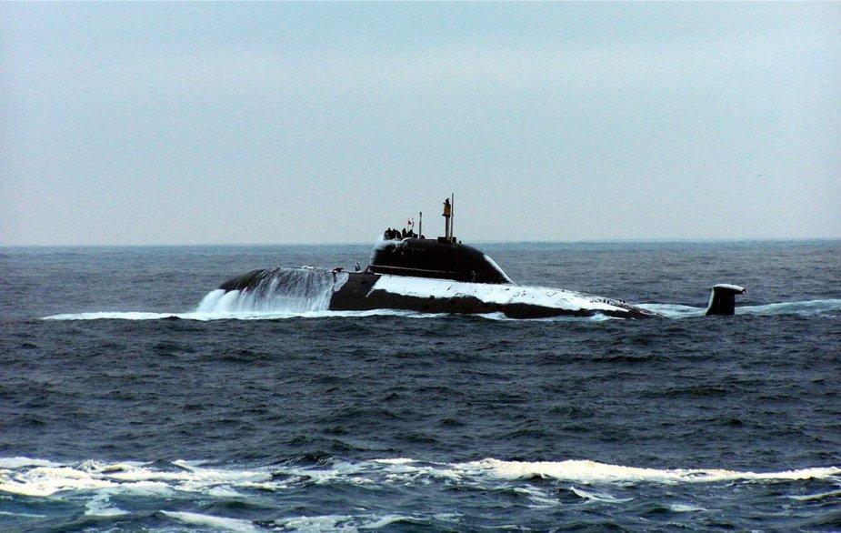 Okręt podwodny typu Akula Gepard (Projekt 971). / Zdjęcie: Pinterest account of Picamlse