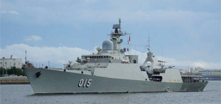 Fregata klasy Gepard 3.9 Tran Hung Dao / Zdjęcie: Marynarka Wojenna Wietnamu