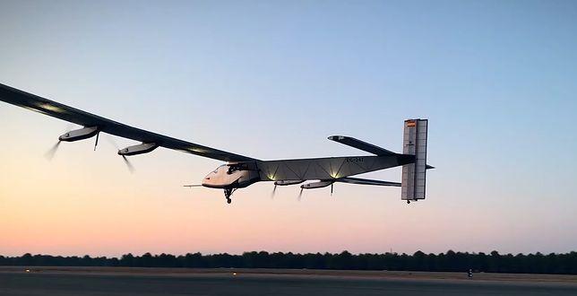 Marynarka Wojenna USA może zyskać nowy samolot, który będzie napędzany energią słoneczną / Zdjęcie: YouTube, NewScientist