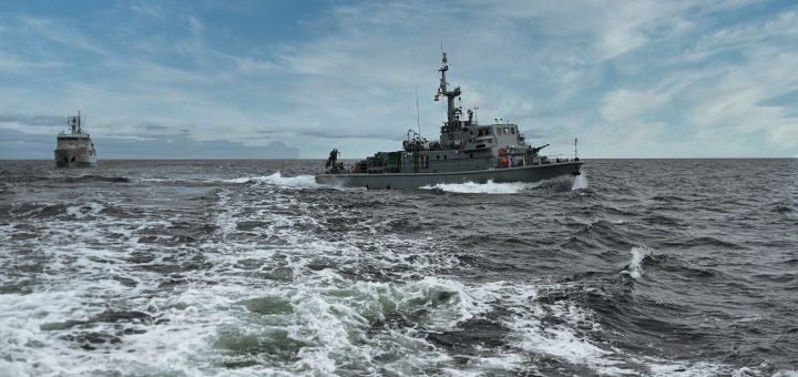 Międzynarodowe ćwiczenia Northern Coasts 2021. / Zdjęcie: kpt. mar. Dariusz Konefał