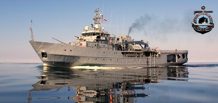 Okręt Dowodzenia Siłami Obrony Przeciwminowej, ORP Kontradmirał X. Czernicki. / Zdjęcie: 8. FLOTYLLA OBRONY WYBRZEŻA
